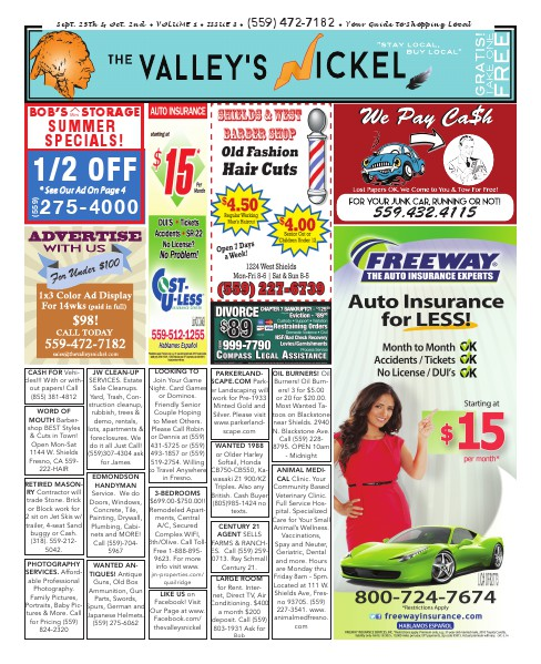 The Valley's Nickel Volume 1 - Issue 8
