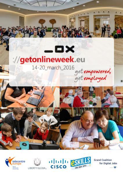 European Get Online Week 2016