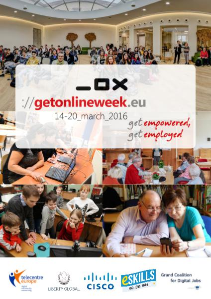 European Get Online Week 2016