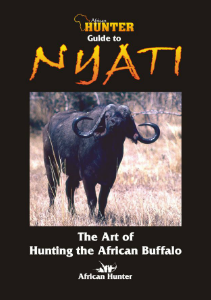 African Hunter Published Books Guide to Nyati | Hunting the African Buffalo