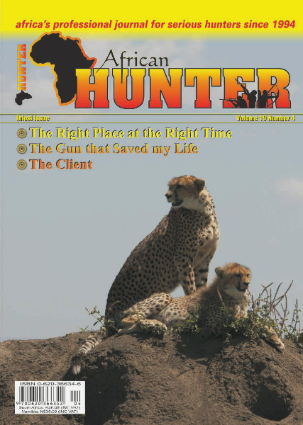 The African Hunter Magazine Volume 19 # 4