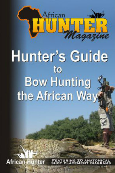 African Hunter Published Books Hunter's Guide to Bowhunting the African Way