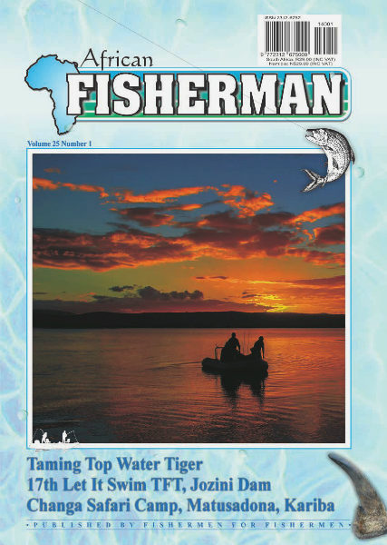 The African Fisherman Magazine Volume 25 # 1