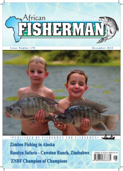 The African Fisherman Magazine Issue No. 170 Dec 2015
