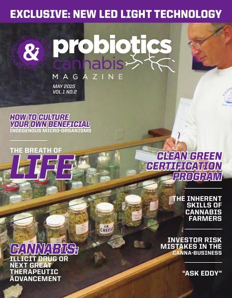 Probiotics & Cannabis Magazine May 2015