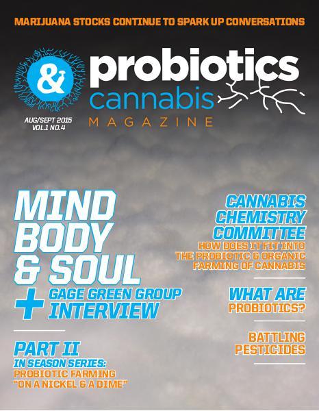 Probiotics & Cannabis Magazine Aug/Sept 2015