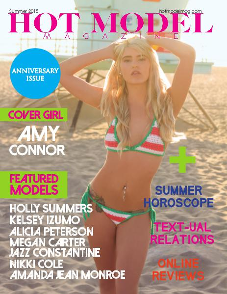 HOT MODEL MAGAZINE Hot Model Magazine Summer Issue 2015