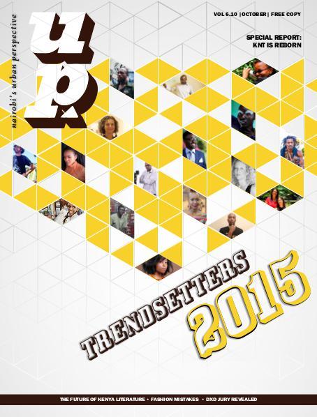 UP MAGAZINE Vol 6.10 Trendsetters 2015