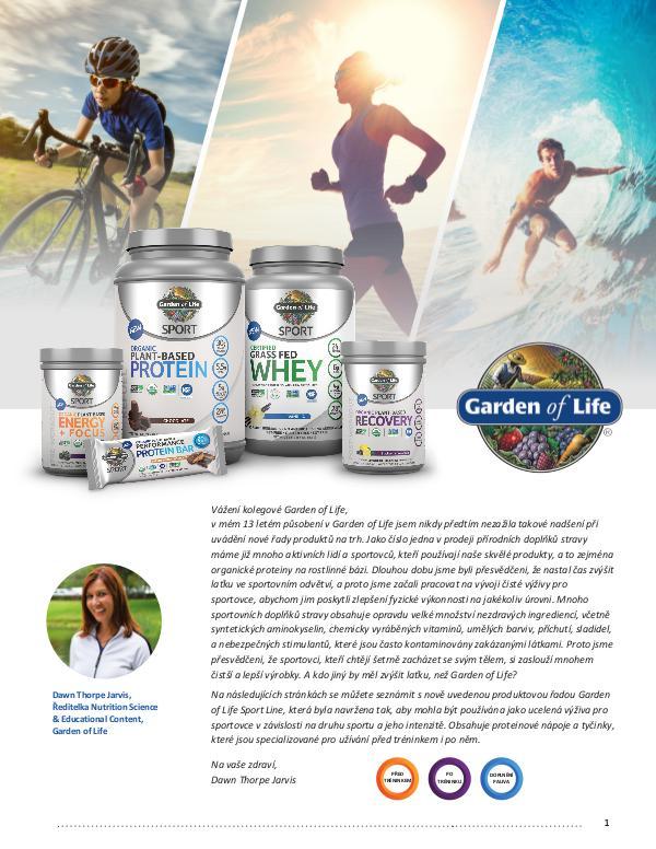 Organic Plant Sport Linie 1
