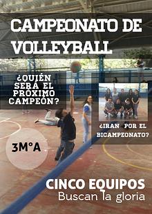 Campeonato de Volley