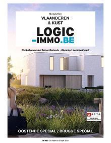 Magazine Logic-Immo : Oost- & West-Vlaanderen, Kust