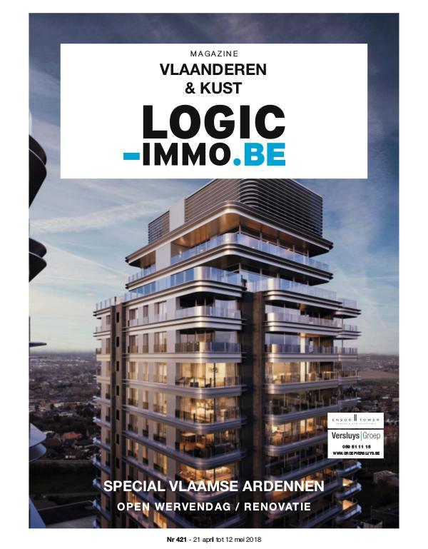 Magazine Logic-Immo : Oost- & West-Vlaanderen, Kust 421