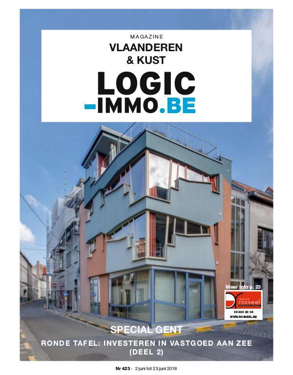 Magazine Logic-Immo : Oost- & West-Vlaanderen, Kust 423