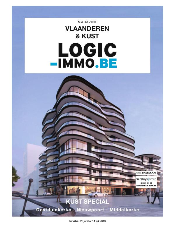 Magazine Logic-Immo : Oost- & West-Vlaanderen, Kust 424