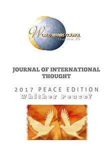 Journal of International Thought: 2017 Peace Edition