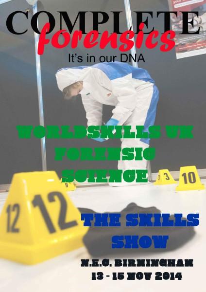 WorldSkills UK Forensic Science November 2014