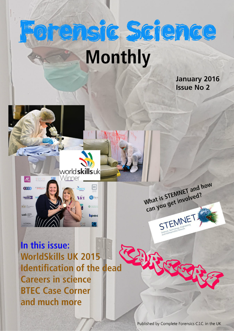 Forensic Science Monthly Issue 2 January 2016
