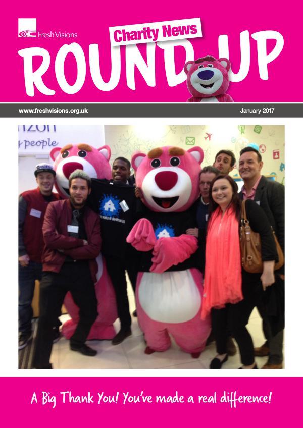 Fresh Visions - Charity News RoundUp - Jan 17 Jan 17