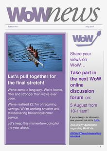 WoWnews - Edition 7 July 2015