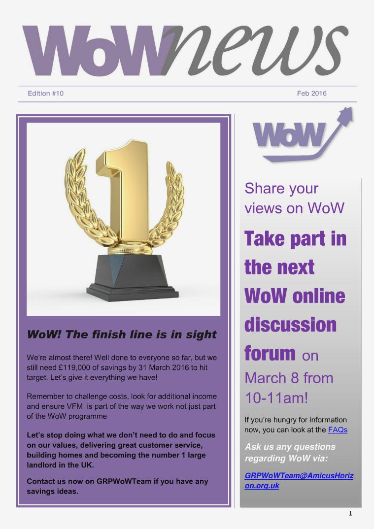 WoW News Edition 10
