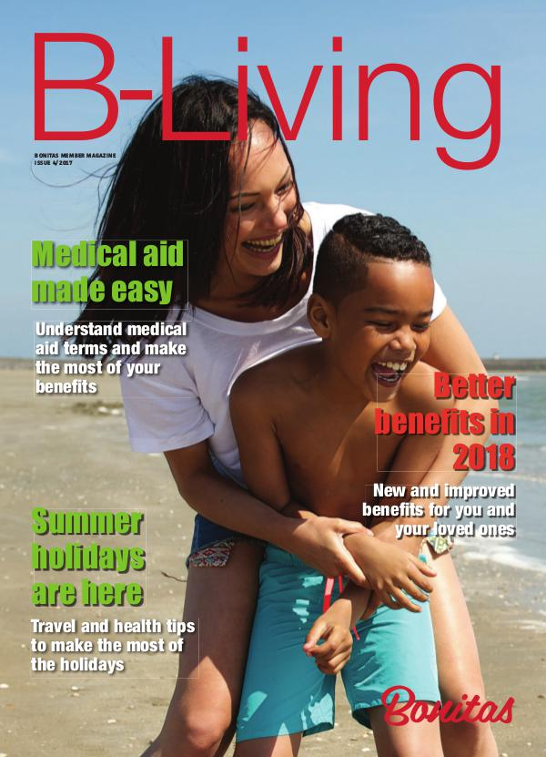 Bonitas Member Magazine B-Living Issue 4