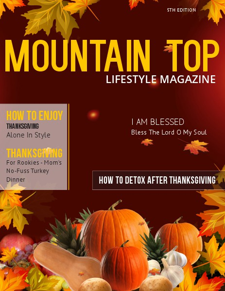MOUNTAIN TOP LIFESTYLE MAGAZINE 5th Edition