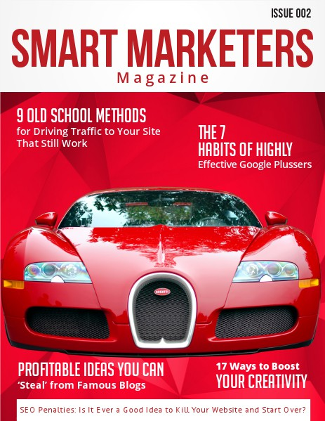 SMART MARKETERS MAGAZINE ISSUE 002