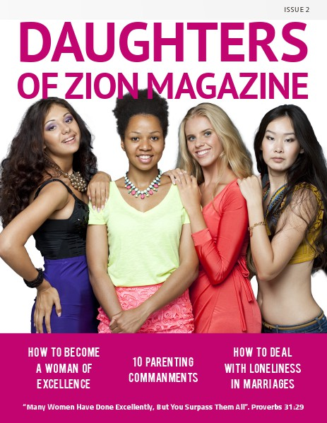 DAUGHTERS OF ZION MAGAZINE ISSUE 2