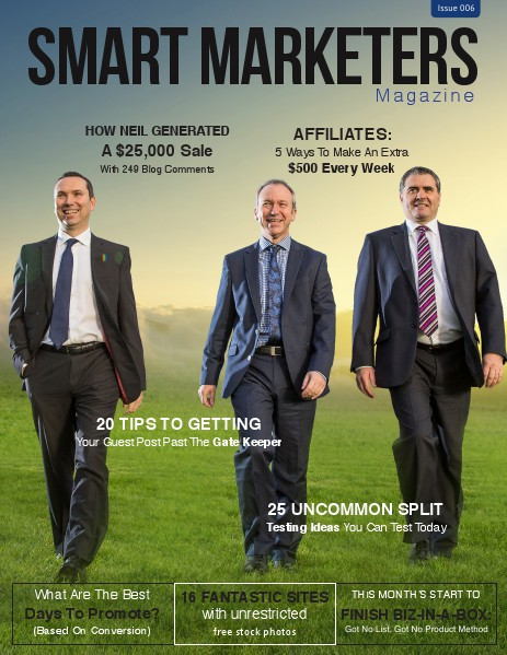 SMART MARKETERS MAGAZINE ISSUE 006