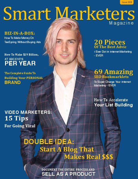 SMART MARKETERS MAGAZINE Issue 008