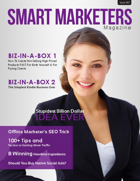 SMART MARKETERS MAGAZINE ISSUE 007
