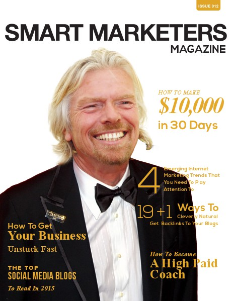 SMART MARKETERS MAGAZINE ISSUE 012