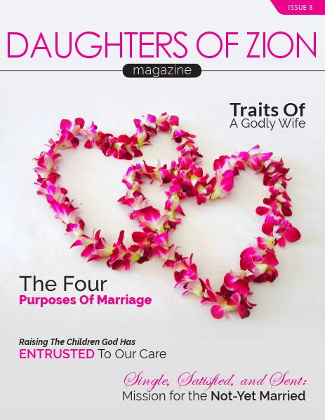 DAUGHTERS OF ZION MAGAZINE Issue 8