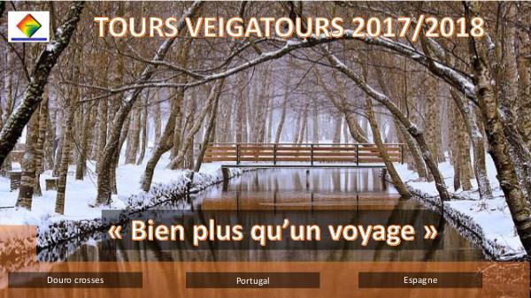 PORTUGAL, TOURS 2017/18 brochura excursões 201718 veigatours francês