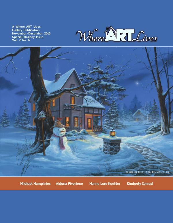 Where ART Lives Magazine Volume 2 Number 6