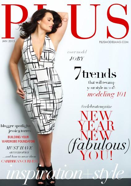 PLUS MODEL MAGAZINE January 2015 Issue