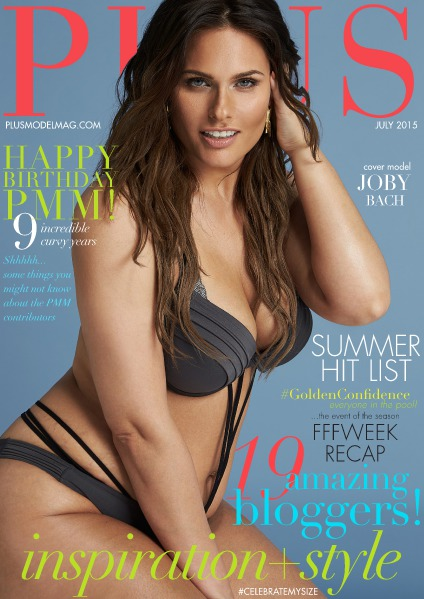 PLUS MODEL MAGAZINE July 2015, the 9th Anniversary Issue