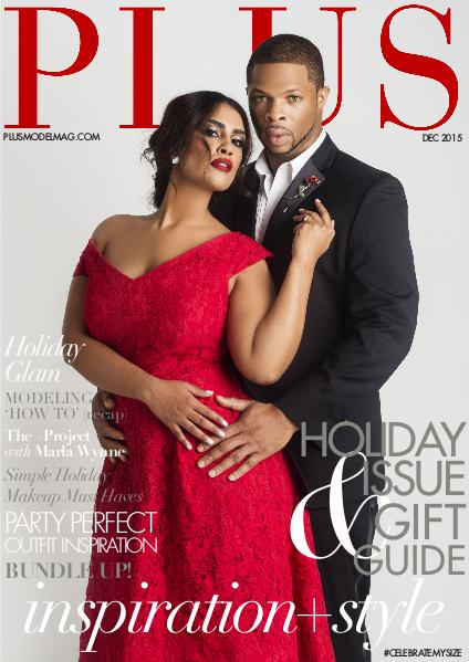 PLUS MODEL MAGAZINE December 2015 Holiday issue