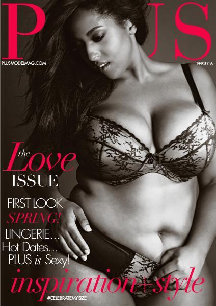 PLUS MODEL MAGAZINE February 2016 Issue