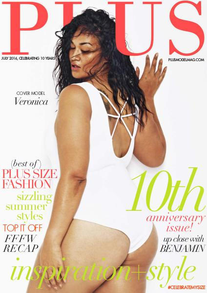 PLUS MODEL MAGAZINE July 10th Anniversary Issue