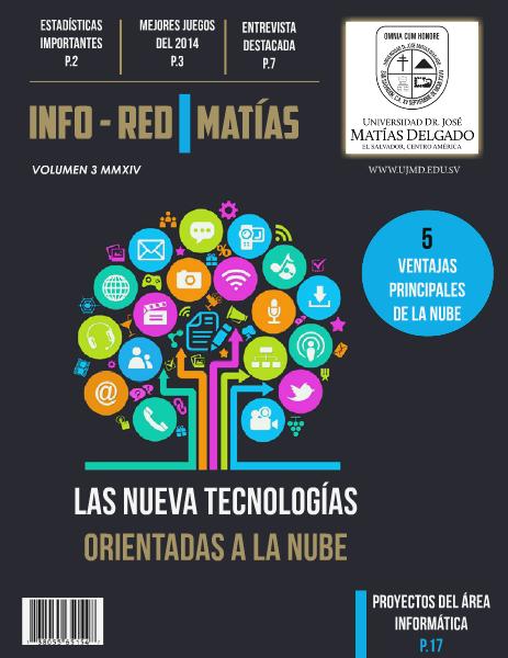 INFO REDES MATIAS VOLUMEN 3 MMXIV