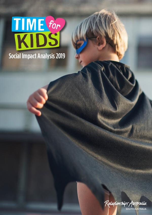 Time for Kids Social Impact Analysis 2019 Time for Kids Evaluation Report 2019