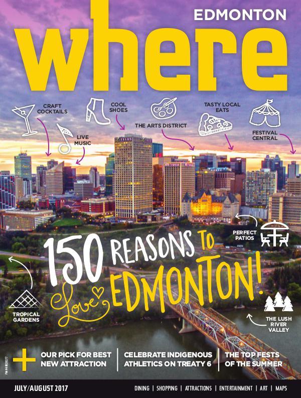 Where Edmonton Magazine July/August 2017