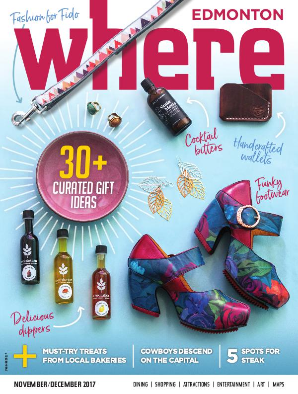 Where Edmonton Magazine November/December 2017
