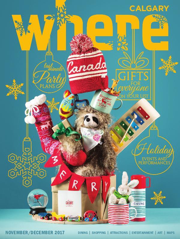 Where Calgary Magazine November / December 2017
