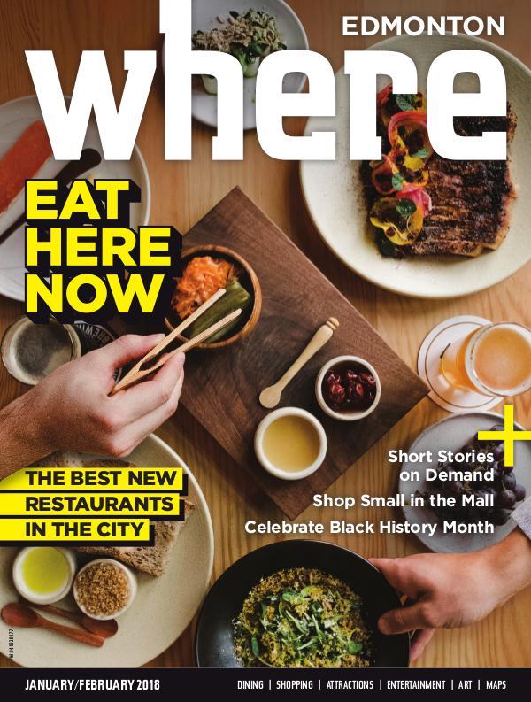 Where Edmonton Magazine January/February 2018