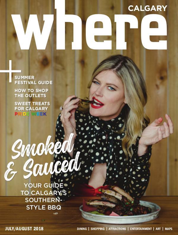 Where Calgary Magazine July/August 2018
