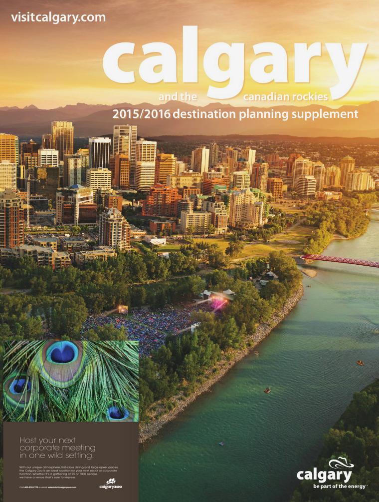 Tourism Calgary Visitor Guide 2015 / 2016