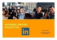Inbound SD Newsletter