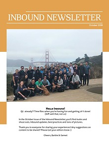 Inbound SD Newsletter